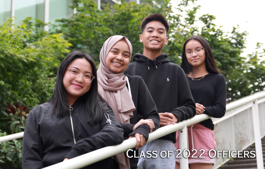 Class of 2022 Officers